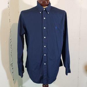 Ralph Lauren Polo XL blue button down shirt